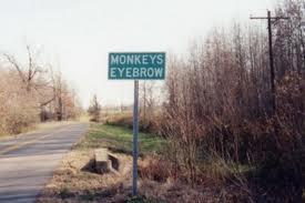 Monkey's Eyebrow, Kentucky
