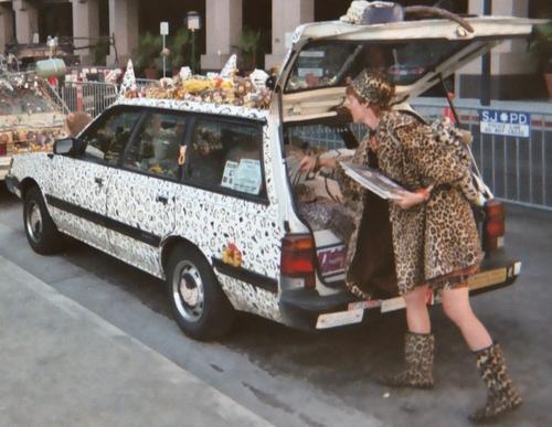 """Animal print"" art car Niteowlneils from English Wikipedia (original source)"