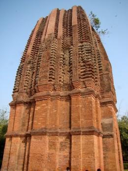 Side view of pinnacle