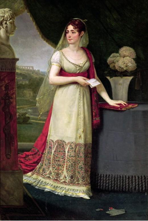 "Antoine-Jean Gros, ""Josephine, Empress of France"", (c.1808) Musee d'Art et d'Histoire, Palais Massena, Nice"