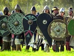 Saxon shield wall