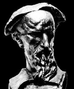 Bust of Marko Marulić, also by Ivan Mestrović.  Father of Croatian literature and Modern Psychology, he was most likely a genius.