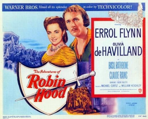 Adventures of Robin Hood (1938) poster