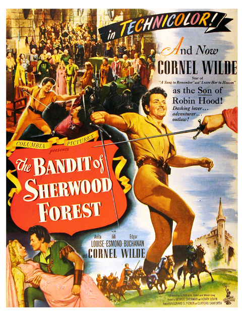 Bandit of Sherwood Forest - poster