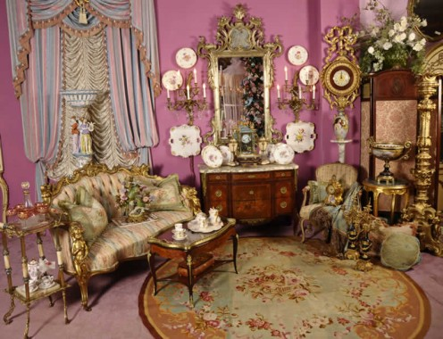 Antique furnishings help a room come alive!