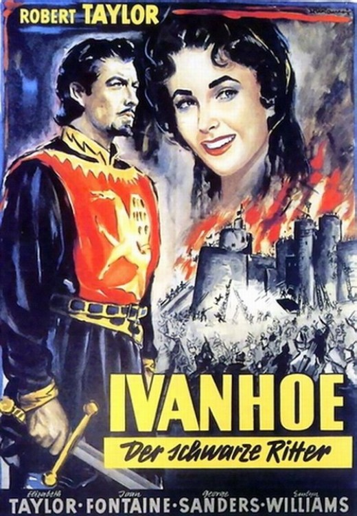 Ivanhoe (1952) poster