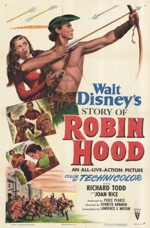 The Story of Robin Hood (1952)