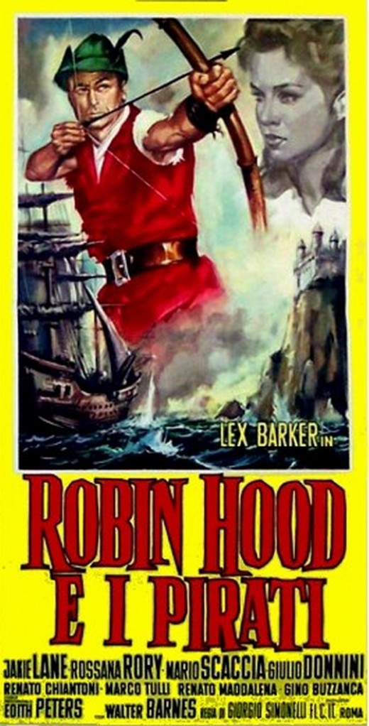 Robin Hood and the Pirates - poster