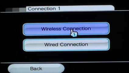"Click ""Wireless Connection."""