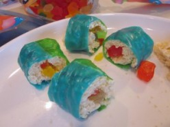 Fruit Roll Ups Sushi Recipe