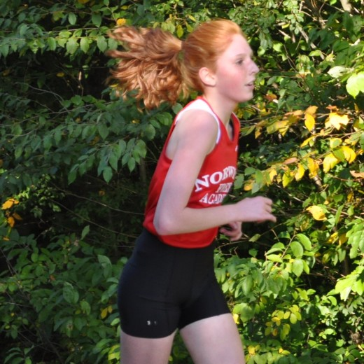 Michaela Murray, Cross Country runner for Norwich Free Academy