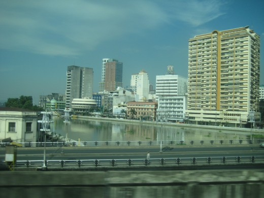 Pasig River today @ Carriedo station