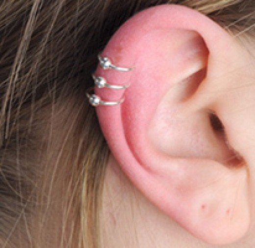 A Triple Helix Piercing