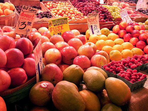Fresh Fruit from Sofia Katariina Source: flickr.com
