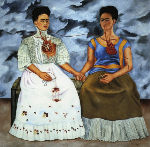 Las Dos Fridas, 1939.