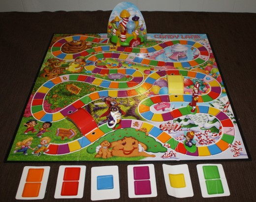Candy Land, great for teaching little ones their colors and counting.