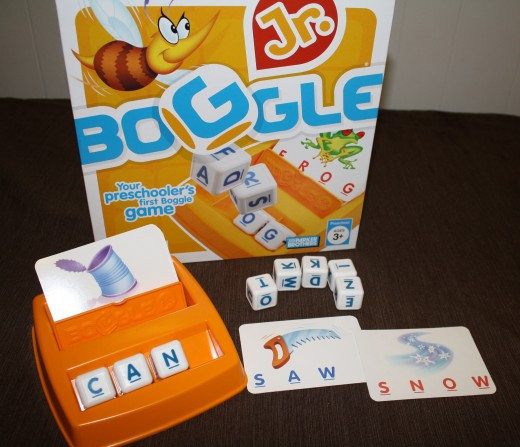 Boggle Kids, great way to teach kids alphabet identification, reading skills, and spelling.