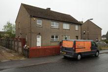 Susan Boyle's old semi-detached council home