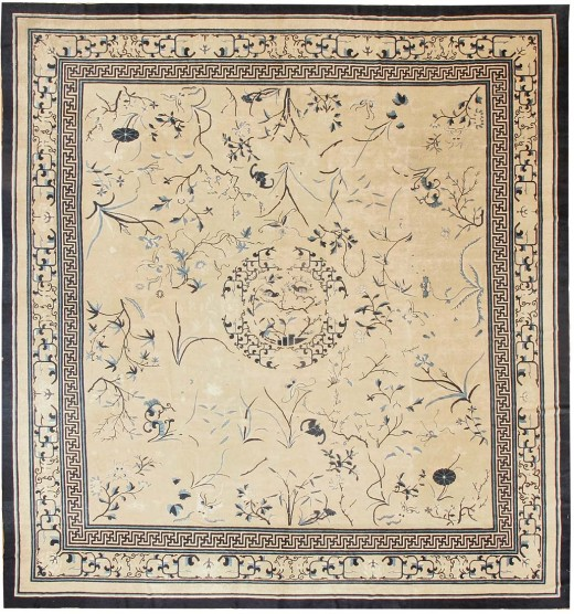 Antique Chinese Oriental Rugs #43321