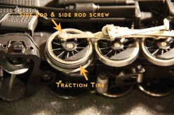 How to Change Traction Tires on a Lionel Steam Locomotive