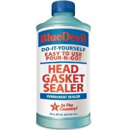 This head gasket sealer formula can help eliminate white smoke from the exhaust system of your car as well as overheating issues and lack of power.