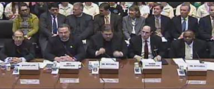 "The congressional panel to discuss the future of funding contraception or ""too many dicks at the dance."""