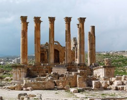 All that  remains of the Temple of Artemis