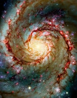 Whirlpoolo Galaxy from Tom Fori Source: flickr.com