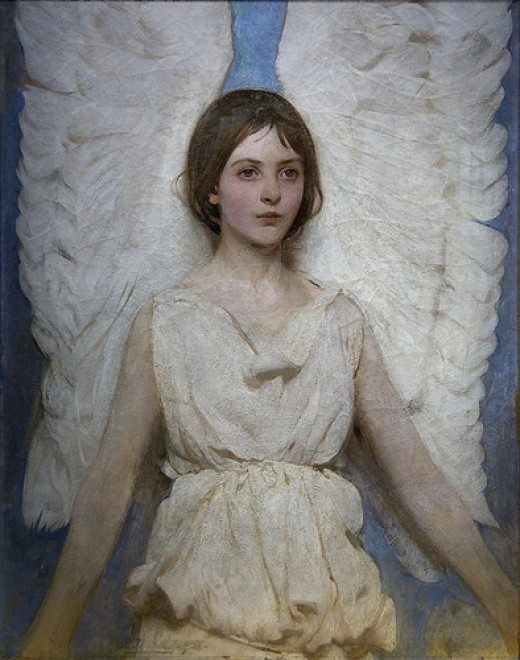 Angel, 1887 from Maulleigh Source: flickr.com