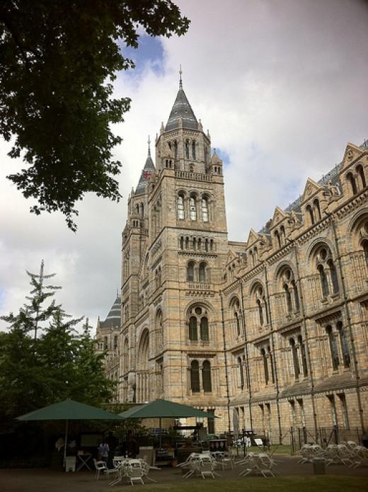 The Natural History Museum, London. Science museum next door.