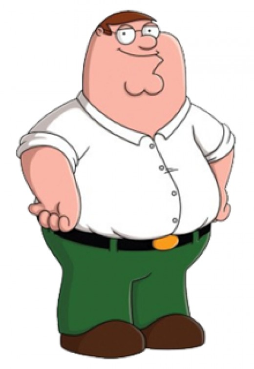 Peter Griffin is a ESFP