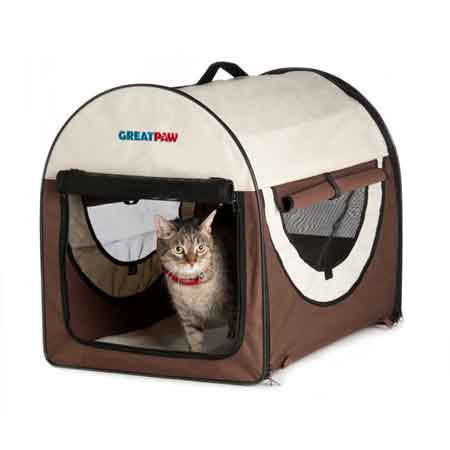 Soft Carrier - Crate The Best Option For Cats