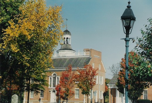 Old State House, Dover, Delaware.