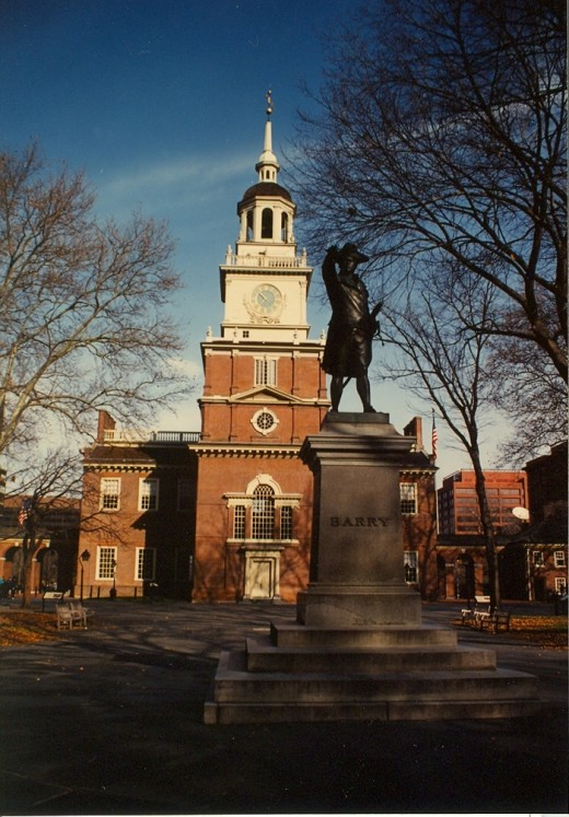 Independence Hall, Philadelphia, Pennsylvania.