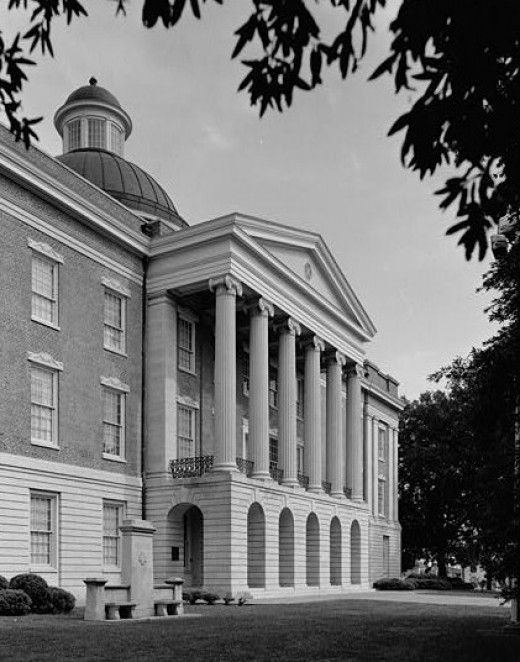 Old State Capitol, Jackson, Mississippi.