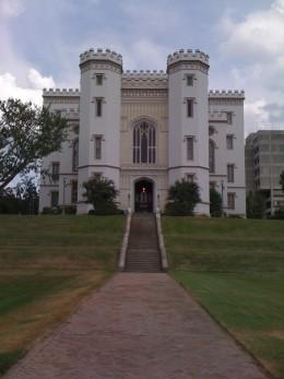 Old State Capitol, Baton Rogue, Louisiana.