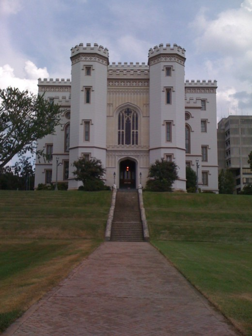 Old State Capitol, Baton Rogue, Louisiana.