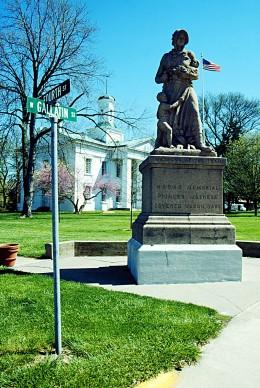 Vandalia State House, Vandalia, Illinois.