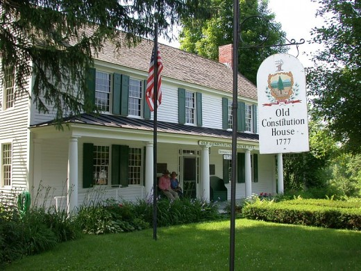 Old Constitution House, Windsor, Vermont.