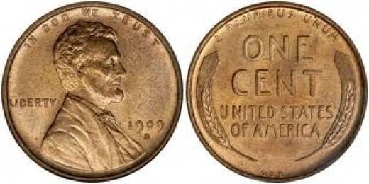 The 1909S-VDB Wheat Penny