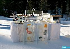 Ice blocks of food