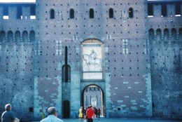 Castello Sforzesco entrance