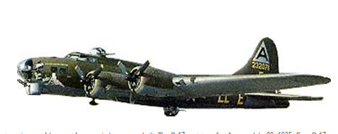 B17 Flying Fortress, Flown by WASP