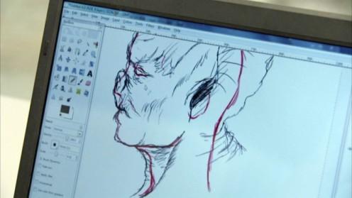 Ian's tablet sketch