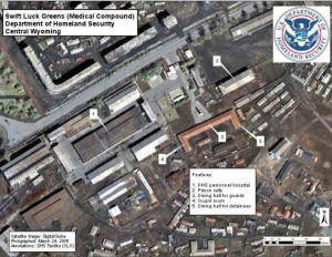 Alleged FEMA death camp.