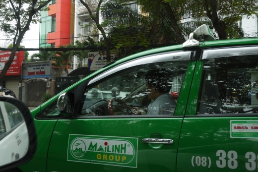 Mai Linh and Vinasun are reliable names in HCMC taxi business. Though there are bad apples in every company. So make sure you know which direction you're heading.