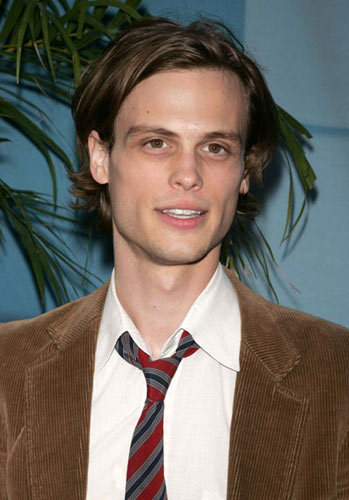 """MATTHEW GRAY GRUBLER PLAYS """"DR. SPENCER REID,"""" ON CBS """"CRIMINAL MINDS,"""" AND SOMETIMES I WISH  HE WOULD BE PUZZLED ABOUT ONE CASE."""