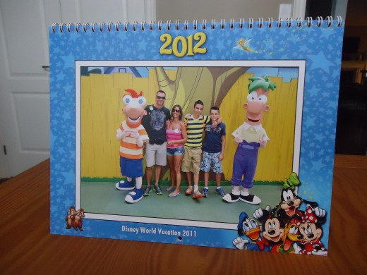 Disney Photo Pass Calendar cover