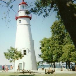 Marblehead Lighthouse at Marblehead Lighthouse State Park, on Lake Erie, Ohio
