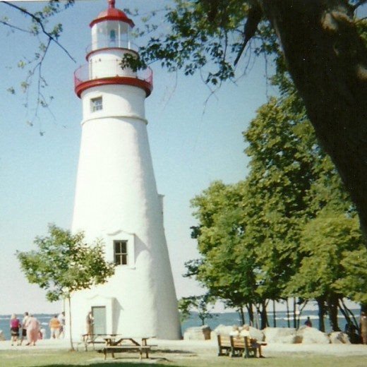 Marblehead Lighthouse at Marblehead Lighthouse State Park, on Lake Erie, Ohio